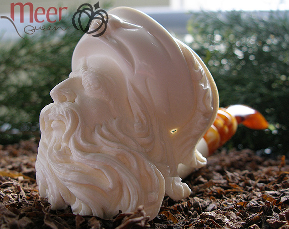 Pirate Meerschaum Pipe