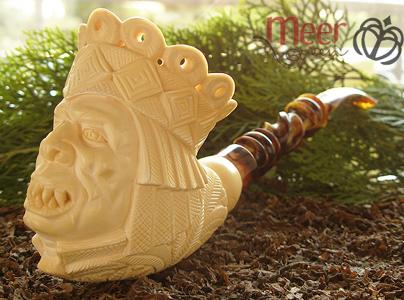 King Orc Meerschaum Pipe| Lord of the Rings