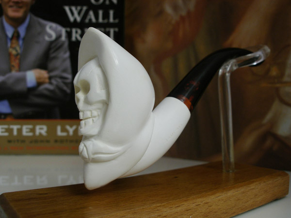 Angel of Death Block Meerschaum Pipe